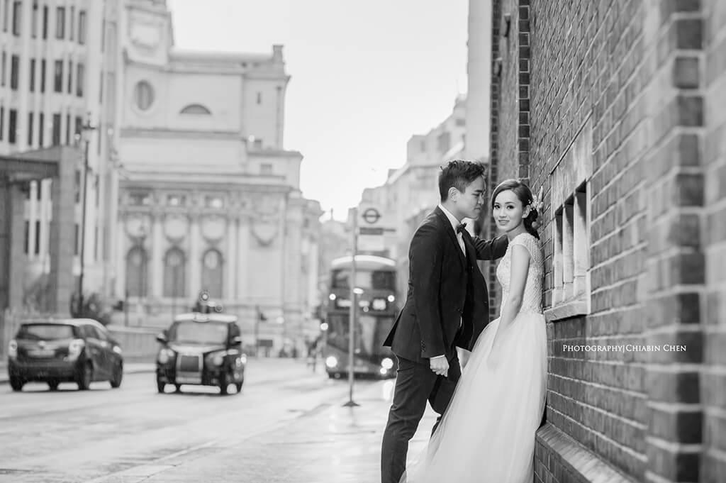 自助婚紗,倫敦英國