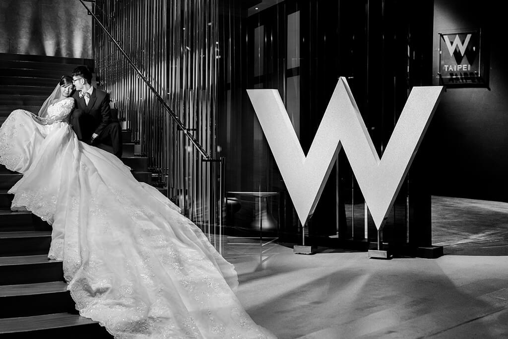 W hotel婚攝